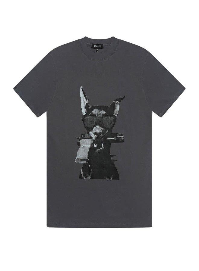 T-shirt Dobermann Grey