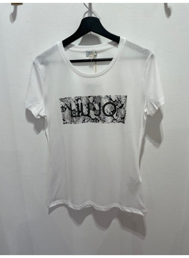 T-Shirt LIU JO Python (White)