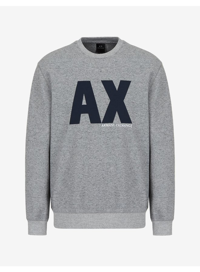 AX Jersey Sweatshirt Grey Melange