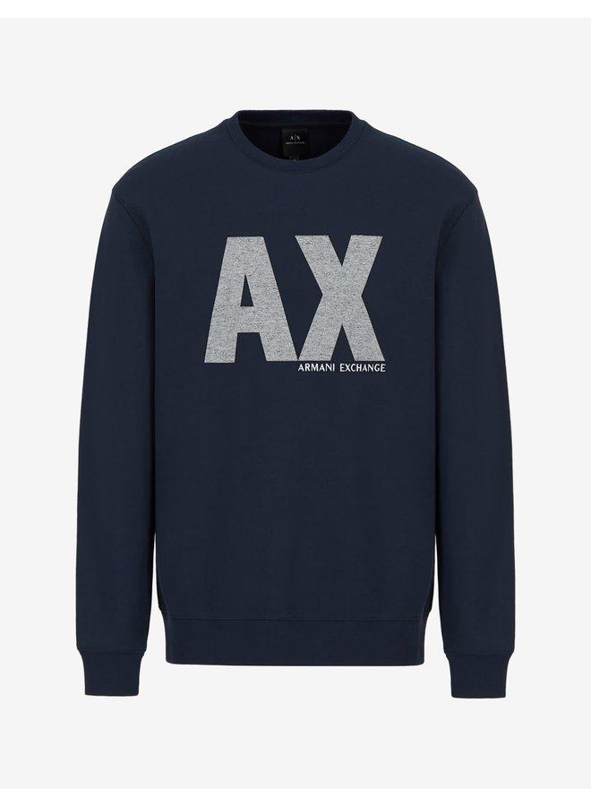 AX Jersey Sweatshirt Navy