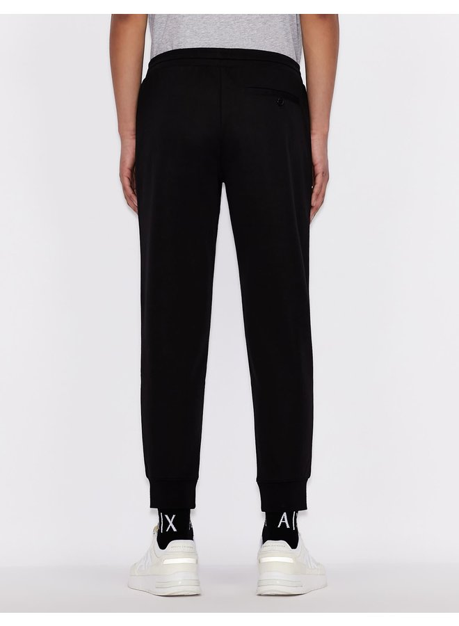 AX Jersey Trouser Black