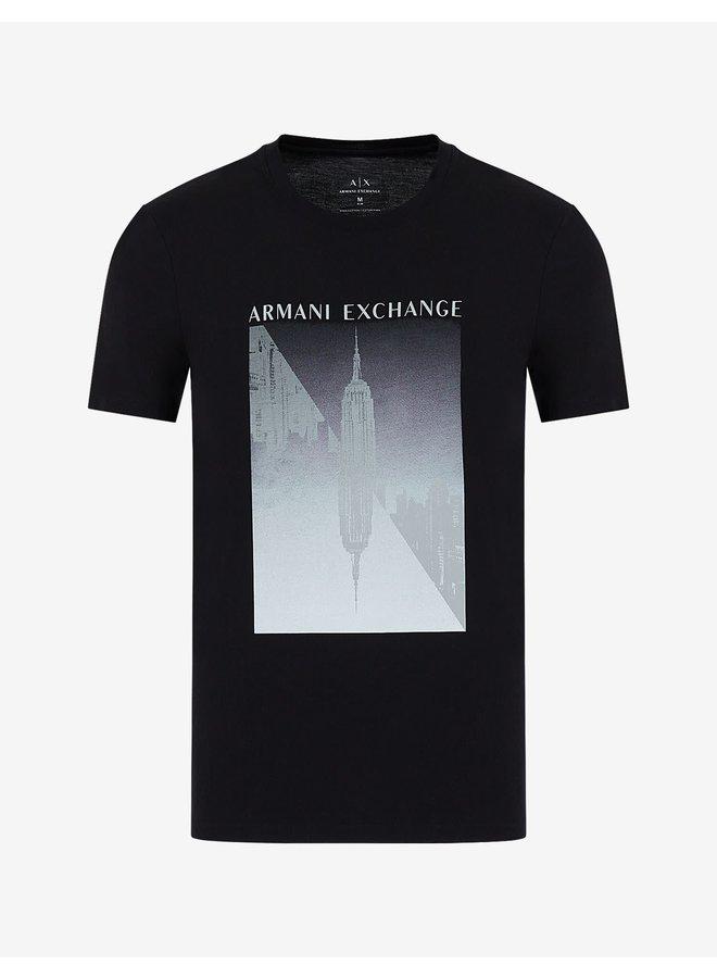 AX Jersey T-shirt Black