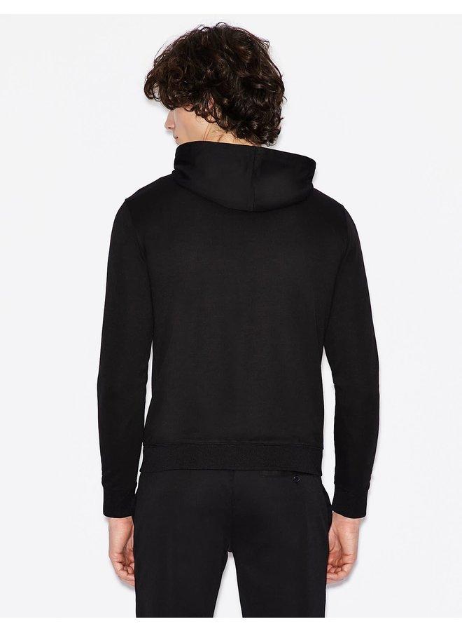 AX Jersey Sweatshirt Black