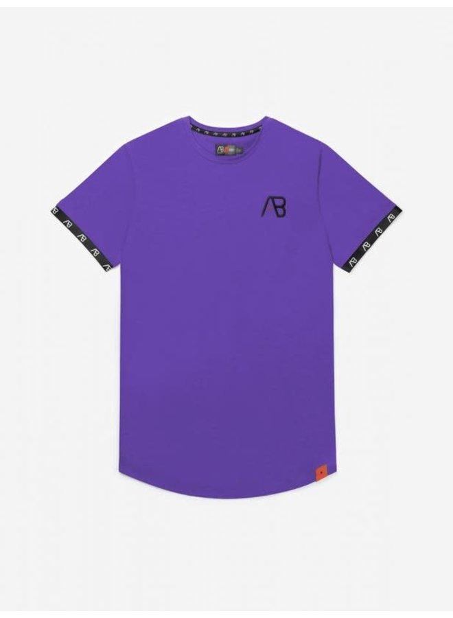 Flag Tee Purple
