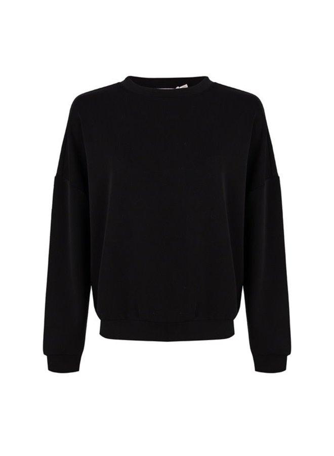Sweater oversized modal Black