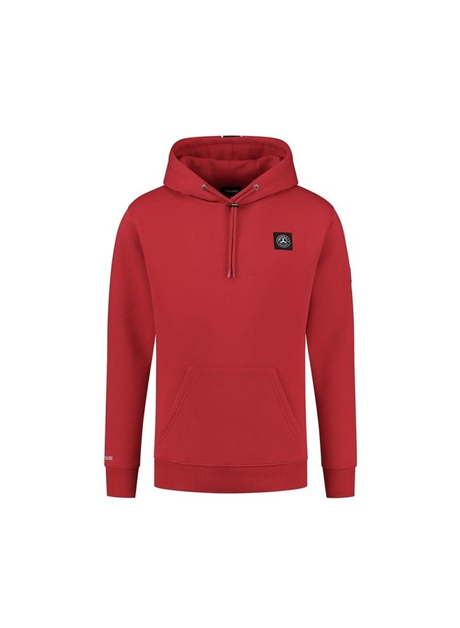 Commodore Hoodie Red