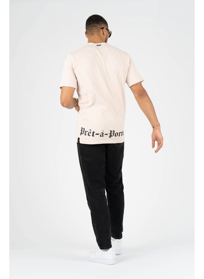 New Orleans T-shirt Beige