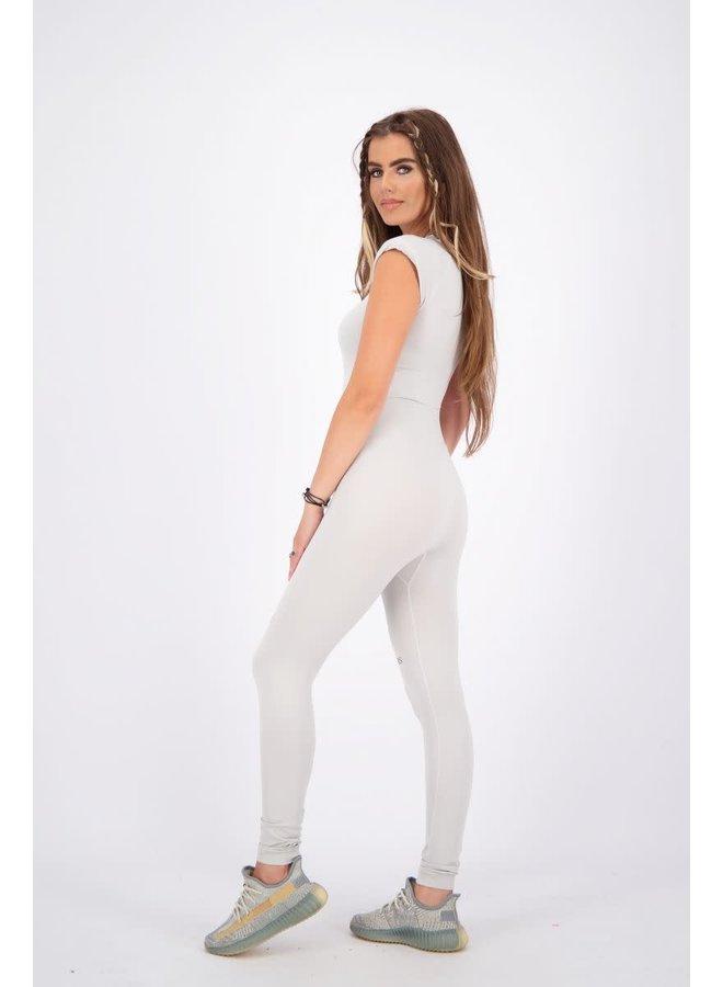 Sport legging long (Quiet Grey)