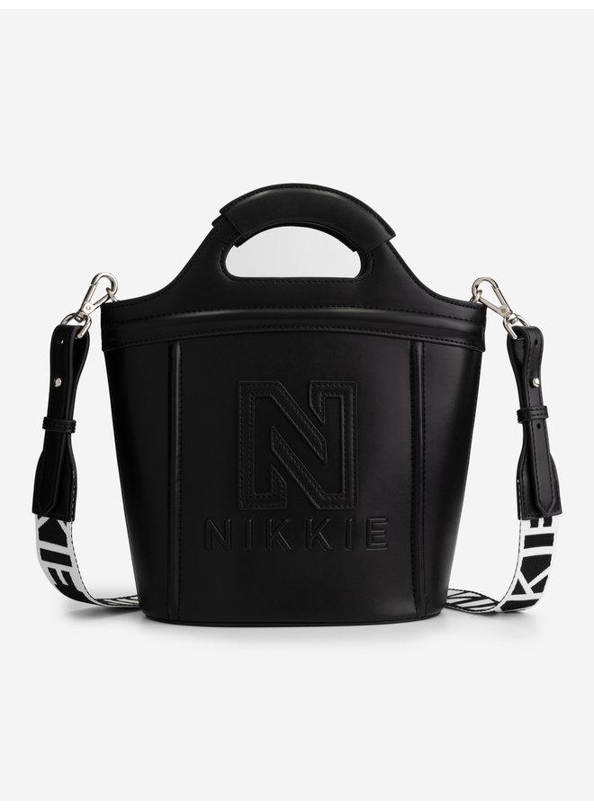 Polly rubber bag (Black)