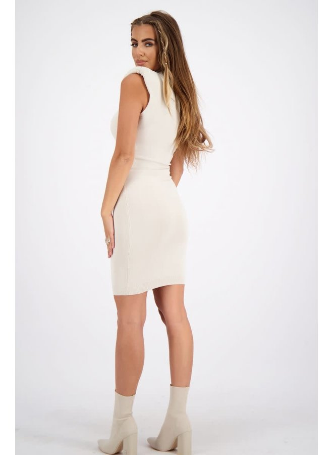 Dress viscose (Creme)