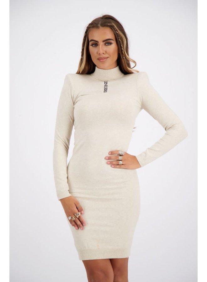 Livia Dress (Creme)