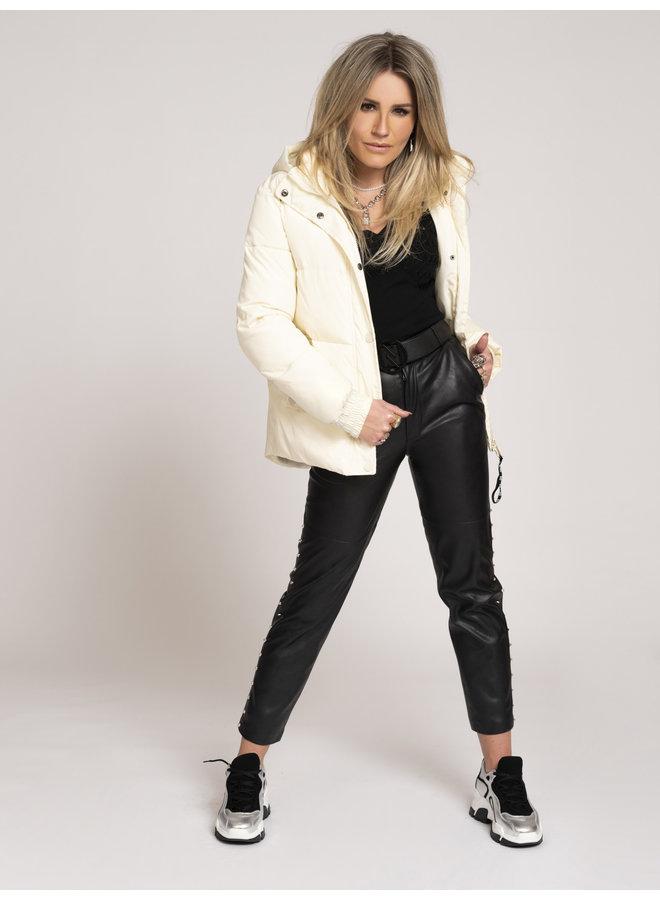 Alexa puffer coat (Cream)