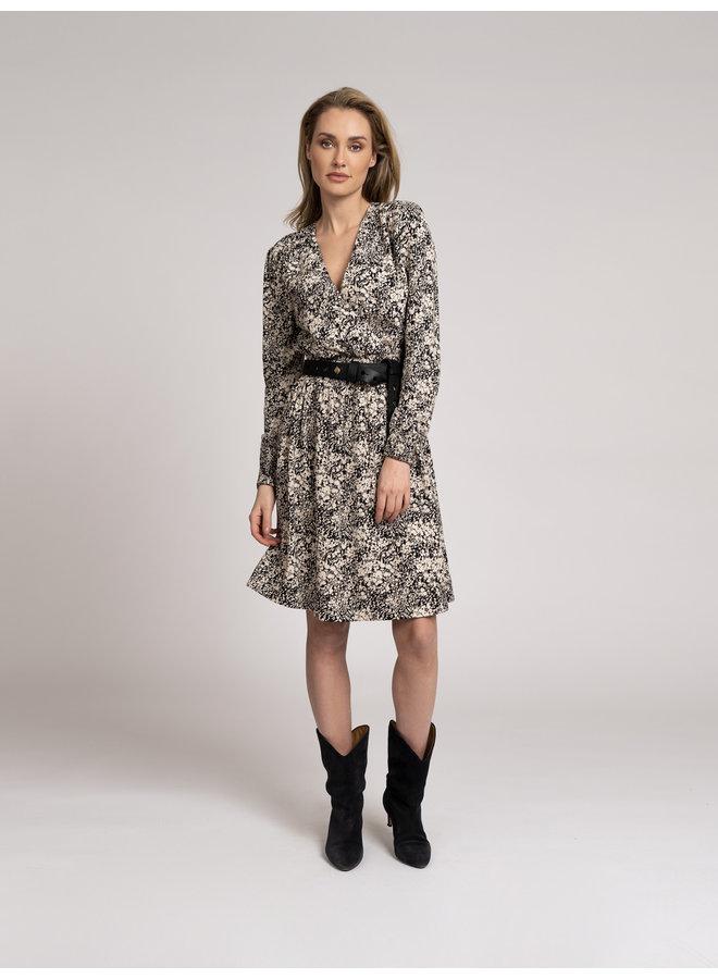 Riz wrap dress
