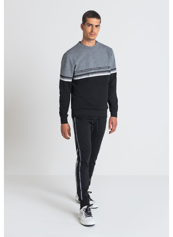 Technology Black Sweater