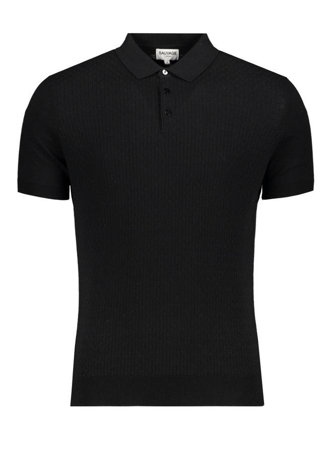 Boy Polo Black
