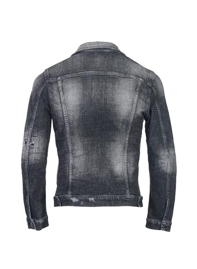 Jacket Denim Black/Grey