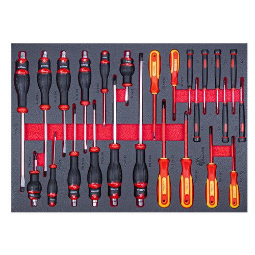 """Ragnor Ragnor gereedschapsmodule schroevendraaiers 25-delig """"Professional Line"""""""