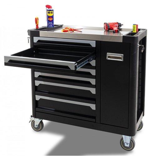Ragnor Chariot à outils Ragnor vide avec compartiment supplémentaire