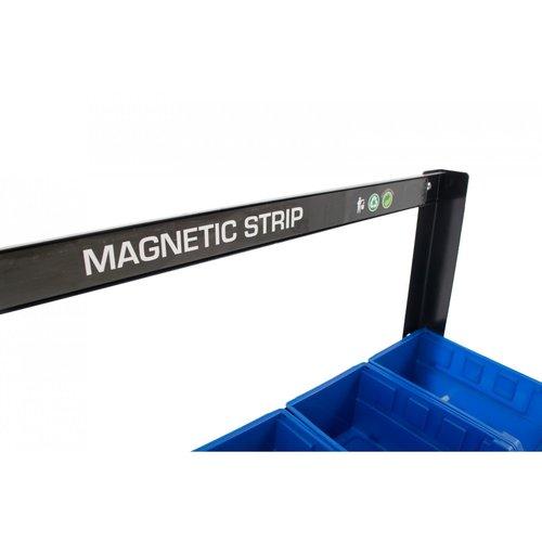 Ragnor Bacs de rangement 16 pièces avec bande magnétique - Ragnor