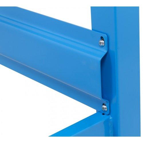 Ragnor Établi mobile avec plan de travail - 200 cm bleu - Ragnor