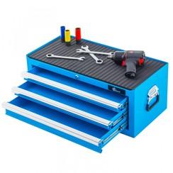 Boîte à outils Ragnor à 3 tiroirs - bleu