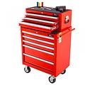 Ragnor Chariot à outils Ragnor, 8 tiroirs - rouge