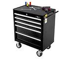 Ragnor Chariot à outils rempli de Ragnor 8 tiroirs 110 pièces - noir