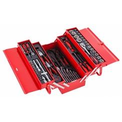 Boîte à outils Ragnor remplie 79 pièces