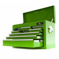 Boîte à outils Ragnor avec 9 tiroirs - vert