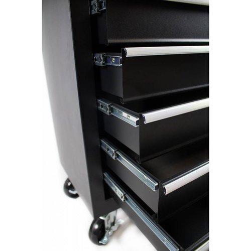 Ragnor Chariot à outils Ragnor 7 tiroirs - noir