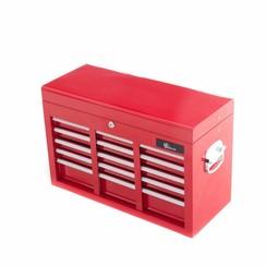 Boîte à outils Ragnor à 9 tiroirs - rouge