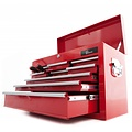 Ragnor Boîte à outils Ragnor à 9 tiroirs - rouge