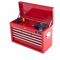 Ragnor Ragnor gereedschapskist met 9 laden - rood