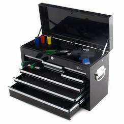 Boîte à outils Ragnor avec 9 tiroirs - noir