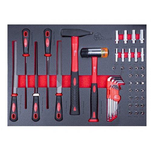 Ragnor Chariot à outils extra large gris avec Ragnor 235 pièces