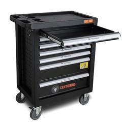 Chariot à outils Centurius 7 tiroirs vide - Orange Line