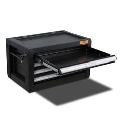 Boîte à outils Centurius 4 tiroirs vide noir