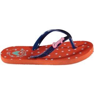 Quapi Slippers soft coral/oranje