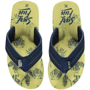 Quapi Slippers lemon floran