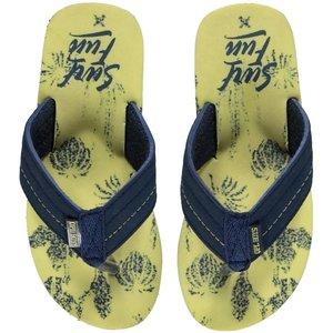 Quapi Slippers lemon floran