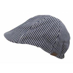 MELTON petje striped blue