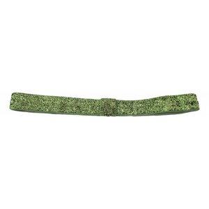 hoofdband glitters green
