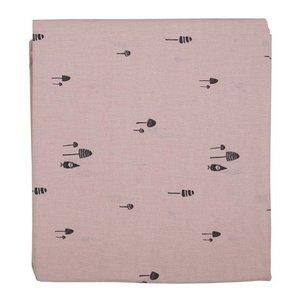 PLUM PLUM Laken bed kabouter pink gnome