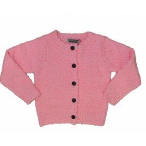 DJ DUTCHJEANS your dreams knitted cardigan neon pink