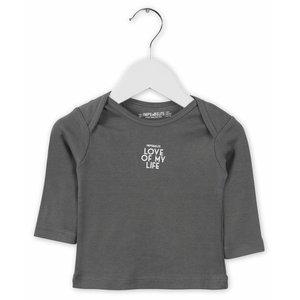 IMPS&ELFS t-shirt long sleeve stone grey