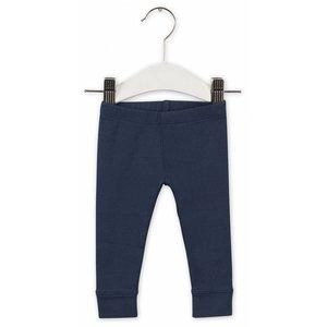 IMPS&ELFS trousers slim dark steel blue