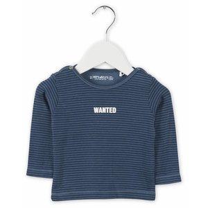 IMPS&ELFS t-shirt long sleeve steal blue  dark steal blue
