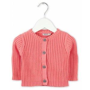 IMPS&ELFS cardigan long sleeve dark doll pink