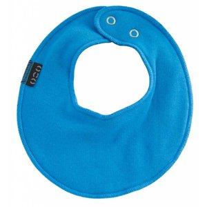 Mikk-Line slabbetje rond aqua blue