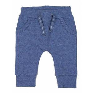DIRKJE BABYKLEDING baby broekje pocket basics blue melee